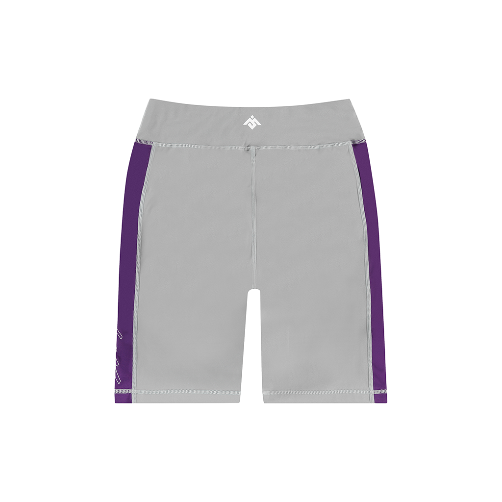MOKSI GREY BIKER SHORTS