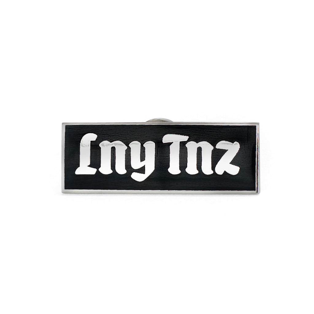 LNY TNZ BOX LOGO PIN