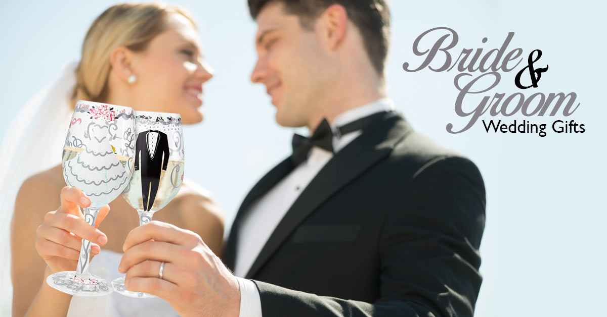 Wedding Wine Glasses & Gifts