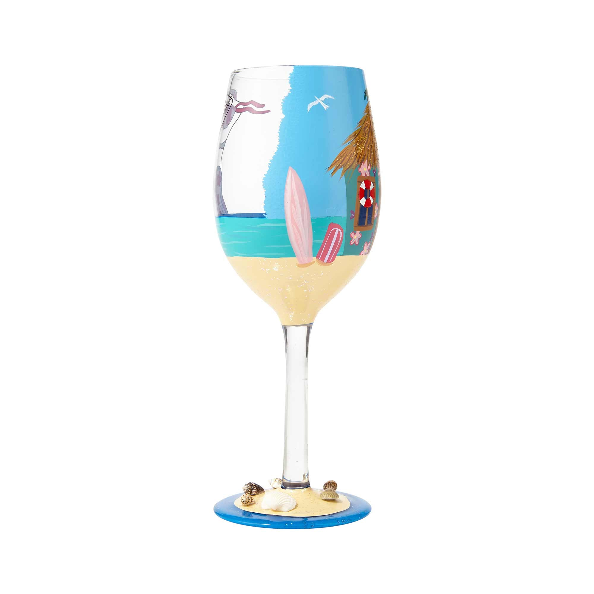 How to decorate glasses for the New Year 2019 with your own hands