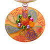 """Thankful, For Wine"" Hand-Painted Artisan Wine Glass, 15 oz."