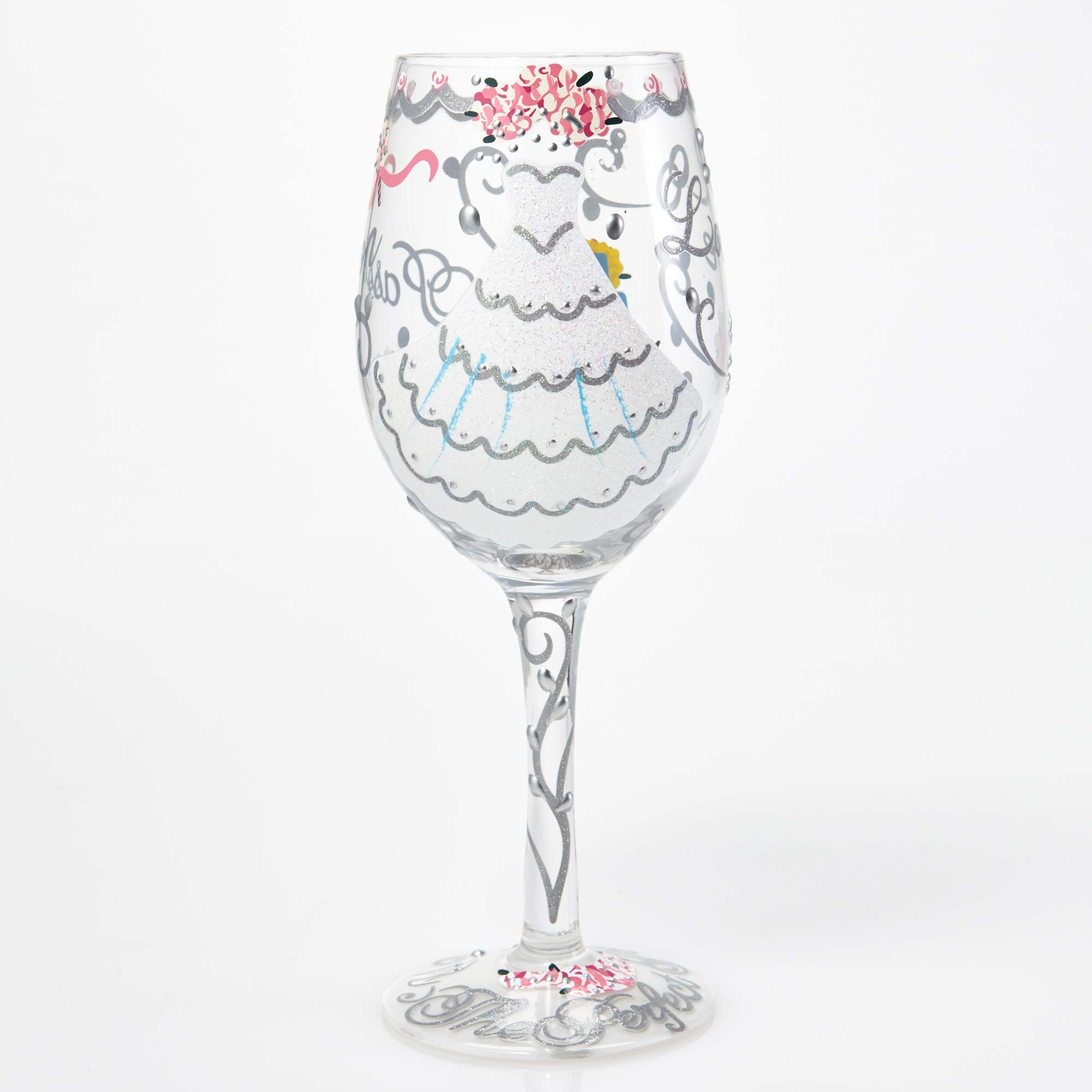 04bd9774658 Lolita Bride Artisan Made Hand Painted Wine Glass