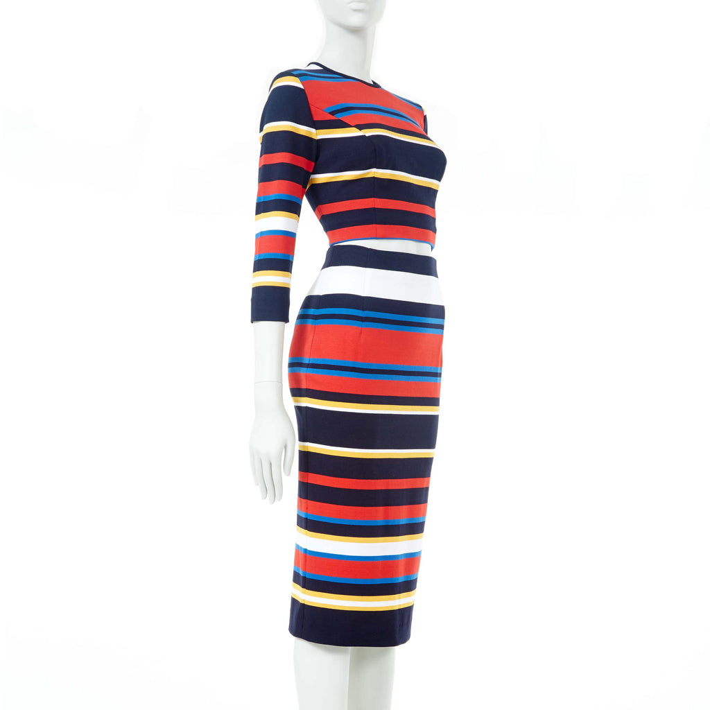 TWO-PIECE COORDINATE MULTI STRIPE