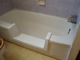 Bathway's tub-to-shower conversion
