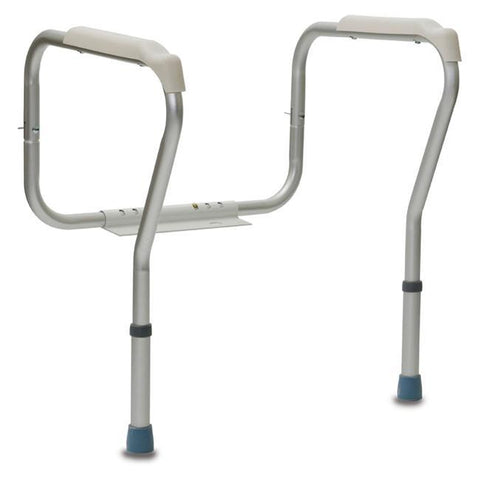 Dual Height Adjustable Toilet Seat Frame