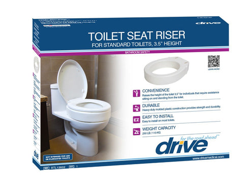 Raised Toilet Seat Riser