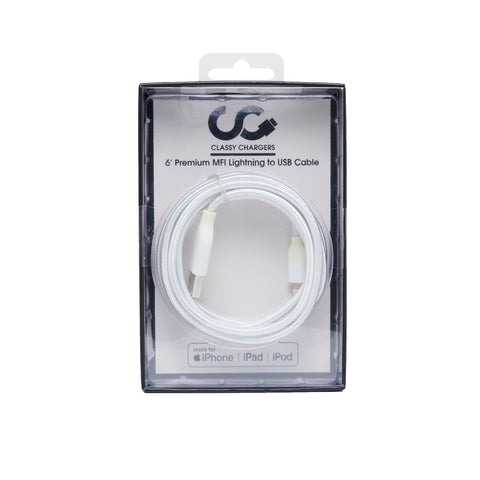6' Apple Certified MFI Lighting Cable