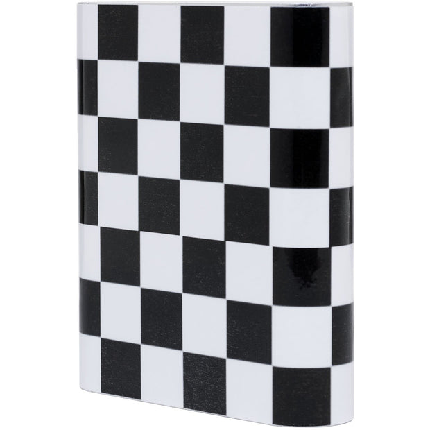 Black Checkered Power Bank - Classy Chargers