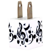 Musical Notes Phone Charger - Classy Chargers