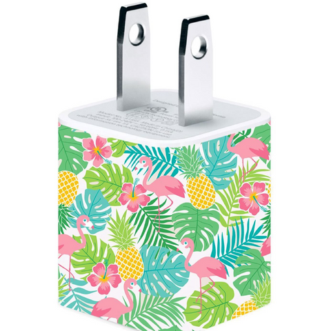 Flamingo Phone Charger - Classy Chargers