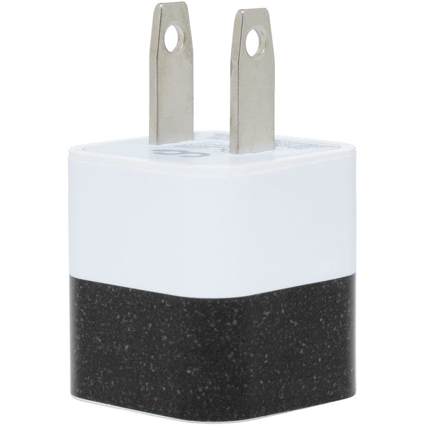 Black White Split Phone Charger - Classy Chargers