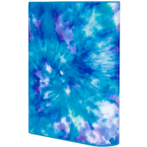 Blue Tie Dye Power Bank - Classy Chargers