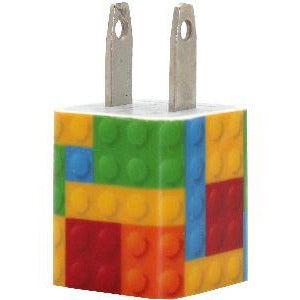 Colorful Blocks Phone Charger