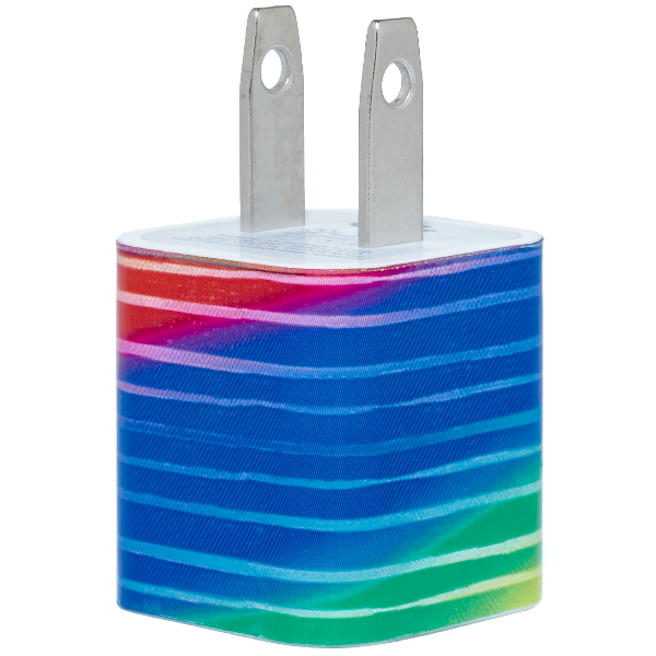Multi Stripe Blend Phone Charger - Classy Chargers