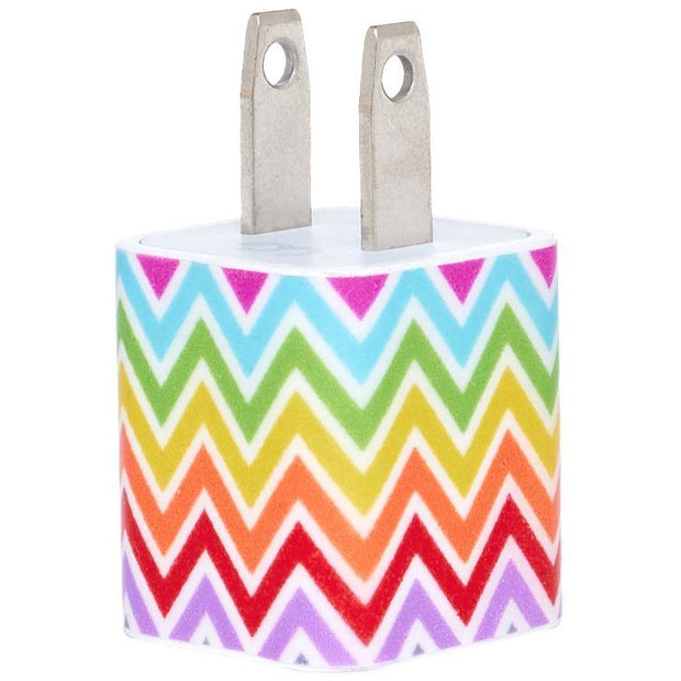 Multi Chevron Phone Charger - Classy Chargers