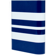 Navy Wide Stripe Power Bank - Classy Chargers