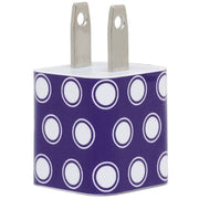 Purple Dot Phone Charger - Classy Chargers