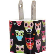 Nighttime Owl Phone Charger - Classy Chargers