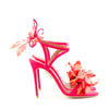 Aquazzura 'Flora' Suede Stiletto Sandals