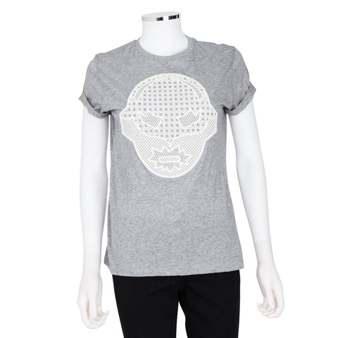 Stella McCartney Superhero Lace Appliqué Shirt