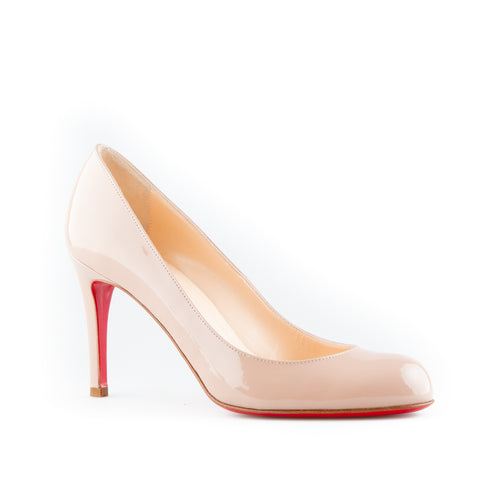 2d2a185183c0 Christian Louboutin  Simple Pump  Patent Leather Pumps – SuiteAdore
