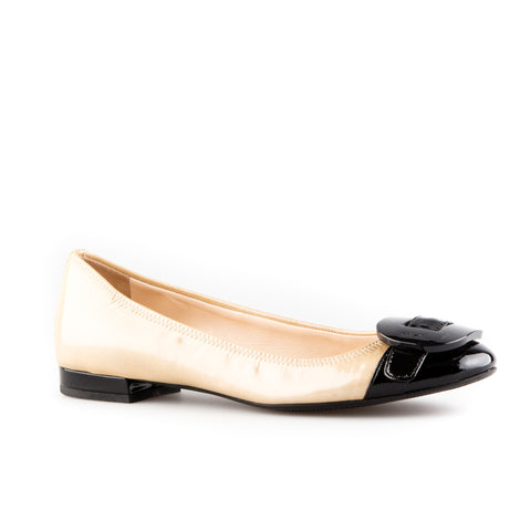 Prada Sport Patent Leather with Buckle Detail Flats