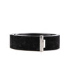 Haider Ackermann Black Suede Belt