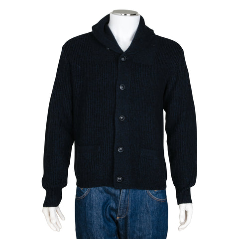 Ralph Lauren Chunky Ribbed Cashmere Knit Cardigan