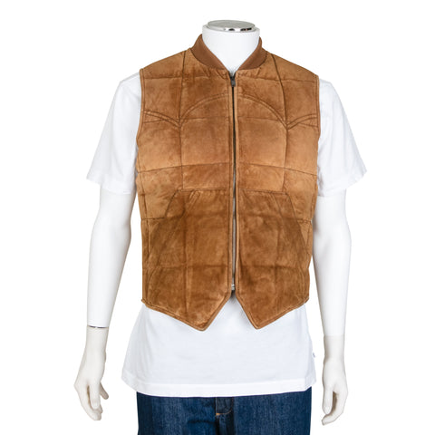 Gucci Men's Suede Sleeveless Vest