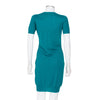 Gucci Short Sleeved Knit Dress with Green and Blue Brooch