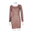 Missoni Long Sleeve Cowl Neck Knit Dress