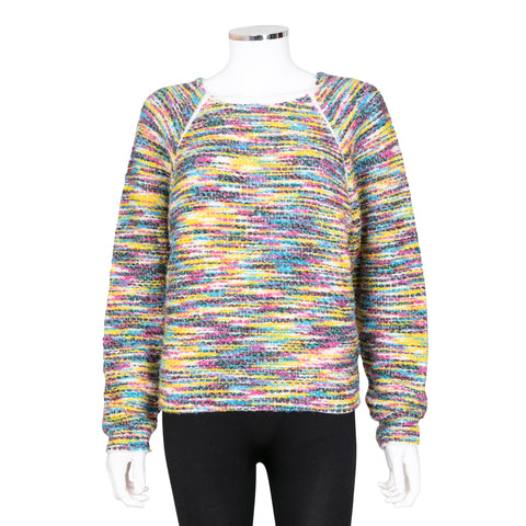Chloe Multi-colour Wool Blend Knit Sweater