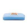 Fendi Blue Leather Shoulder Bag