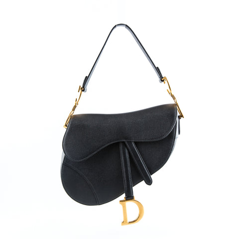 Christian Dior 'Saddle' Calfskin Shoulder Bag