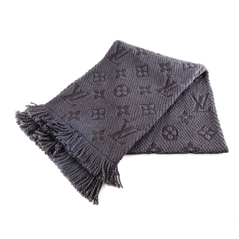 Louis Vuitton Monogrammed Wool Scarf