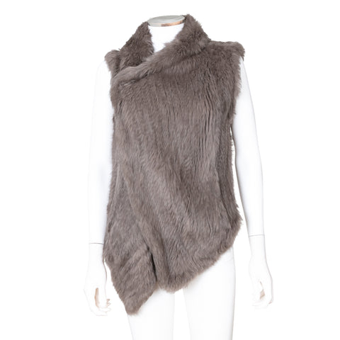 June Sleevess Fur Vest