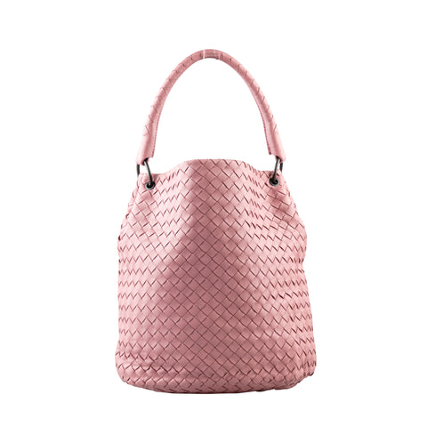 Bottega Veneta Intrecciato Nappa Top Handle Bag