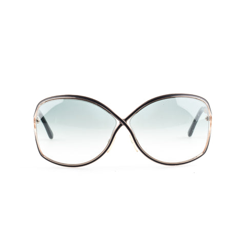 Tom Ford 'Rickie' TF179 Oversized Sunglasses