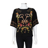 Dolce & Gabbana Key and Floral Printed Top