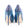 Gucci 'Sofia' Crystal Embellished Peep Toe Platform Pumps