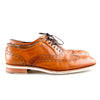 Salvatore Ferragamo Men's Brown Leather Lace Up Shoes
