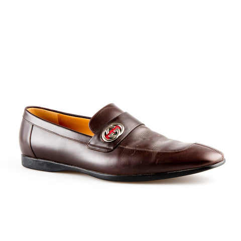 Gucci Slip On Loafers with GG Charm
