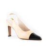 Chanel NEW Classic Two Tone Slingback Pumps
