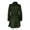 Prada Dark Green Mock Neck Coat