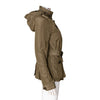 Burberry Brit Hooded Anorak Jacket with Waistbelt