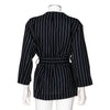 Acne Studios NEW 'Jada' Pinstripe Jacket