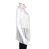 Balenciaga Sleeveless Striped Blouse