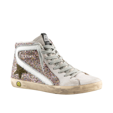 Golden Goose Girl's High Top Sneakers