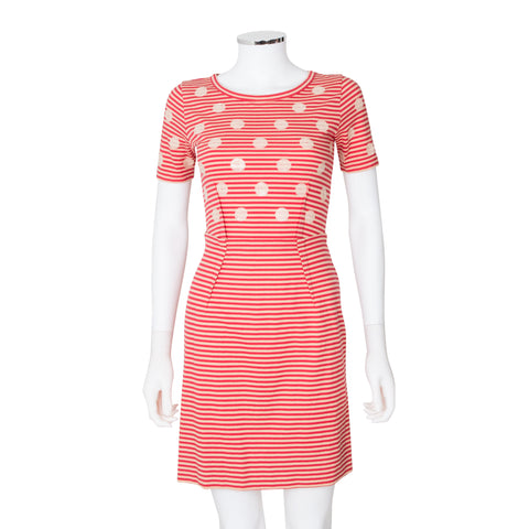 Marc by Marc Jacobs 'Willa' Sequin Dot Stripe Dress