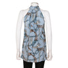 Gucci Belt Print Silk Blouse